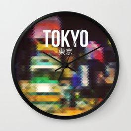 Tokyo - Cityscape Wall Clock
