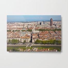 LYON-FRANCE  Metal Print