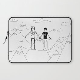 echo practice  Laptop Sleeve