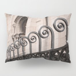 Sacre Coeur Rounded Railing Detail Pillow Sham