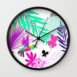 Full Exotic Wall Clock