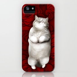 FrankNFluff iPhone Case