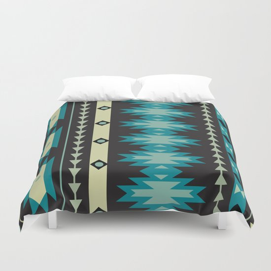 American Native Pattern No. 40 Duvet Cover