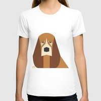 the hound T-shirts featuring Basset Hound by Page 84 Design