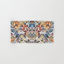 Rorschach Flowers 1 Hand & Bath Towel
