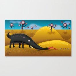 aardvark-a-gogo Canvas Print