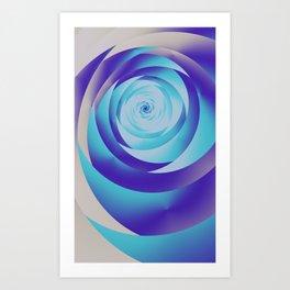 fractal geometry -110- Art Print