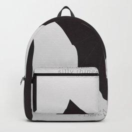 Wittgenstein, Derek Jarman, movie poster, minimalist, alternative, fine art, european film Backpack