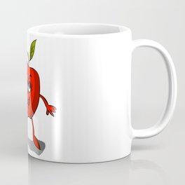 Red apple Coffee Mug
