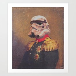 Storm Trooper General | Fanart Art Print