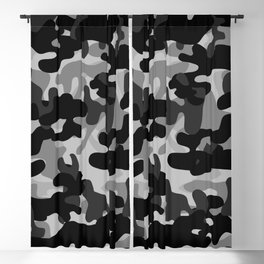 Camouflage (Gray) Blackout Curtain