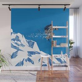 Ski Jump Wall Mural