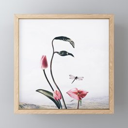 Can you see me? Framed Mini Art Print