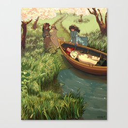 An Unfortunate Lily Maid Canvas Print