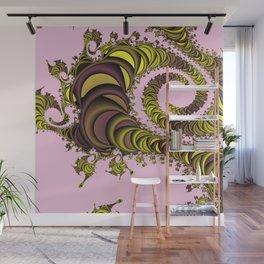 Fraktal queue Wall Mural