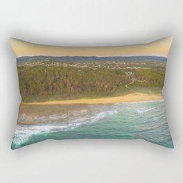 Bateau Bay Beach Rectangular Pillow