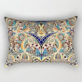 Drawing Floral Zentangle G240 Rectangular Pillow