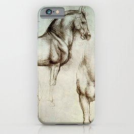 "Leonardo da Vinci ""Gran Cavallo"" iPhone Case"