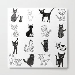 Cats Metal Print