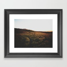 L I G H T Framed Art Print
