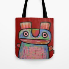 Rabbit work out Tote Bag