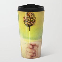 Once Upon a Time a Colorful Candy Travel Mug