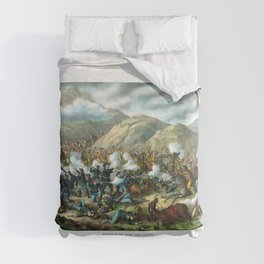 Battle Of The Big Horn Comforters