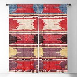 Nevsehir Cappadocian Central Anatolian Kilim Print Blackout Curtain