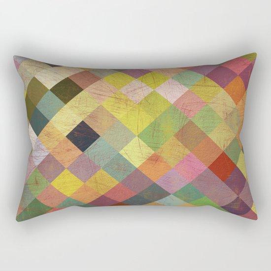 Aztec Vintage Pattern 06 Rectangular Pillow