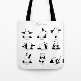 Yoga Panda II Tote Bag