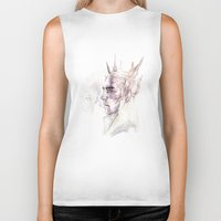 thranduil Biker Tanks featuring Thranduil by Caeruls