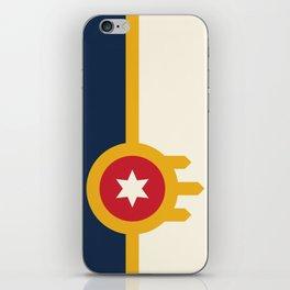 Tulsa Flag iPhone Skin