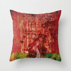 Where are we going? Throw Pillow