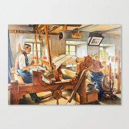 Weavers Canvas Print
