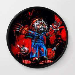 Freddy Of All Faces Wall Clock