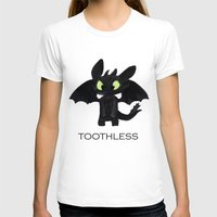 toothless T-shirts featuring Toothless  by Walko
