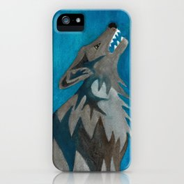 Hollowing Wolf iPhone Case