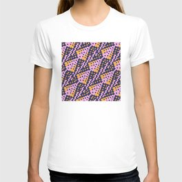 Chocktaw Geometric Square Cutout Pattern - Amazon Flower T-shirt