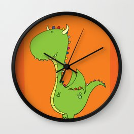 Mommy's little dragon Wall Clock