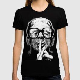 FRANKY - the Ornithology Warden - NIGHT SHIFT T-shirt