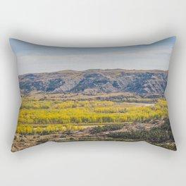 Badlands, Theodore Roosevelt NP, ND 6 Rectangular Pillow