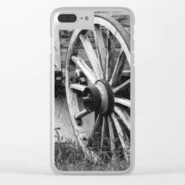 The wheel Clear iPhone Case