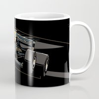 senna Mugs featuring Ayrton Senna x JPS by Sean Kane Design