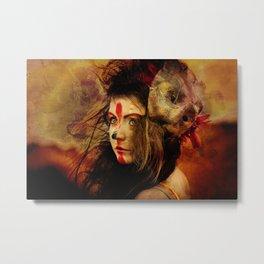 The Lion King Metal Print
