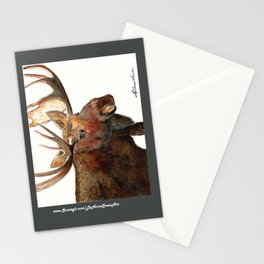 Michelangelo Moose Stationery Cards