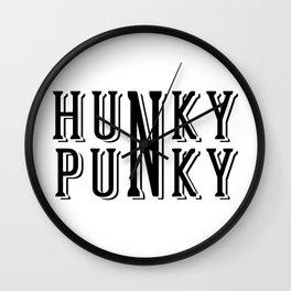 Hunky Punky - Logo Wall Clock