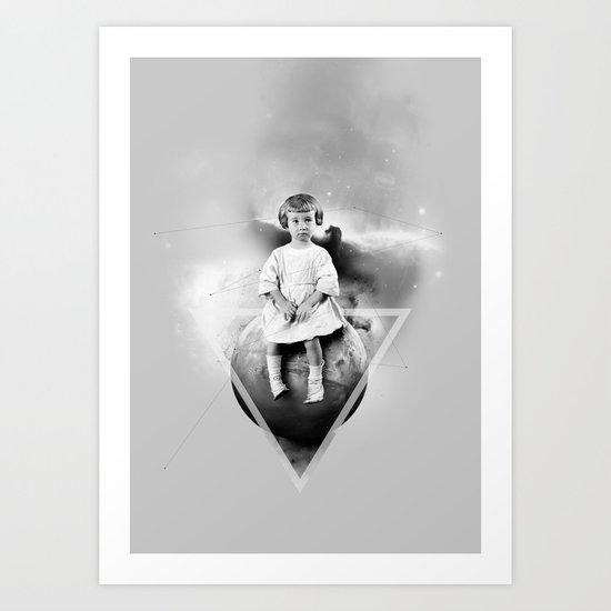 La Petite Princesse Art Print
