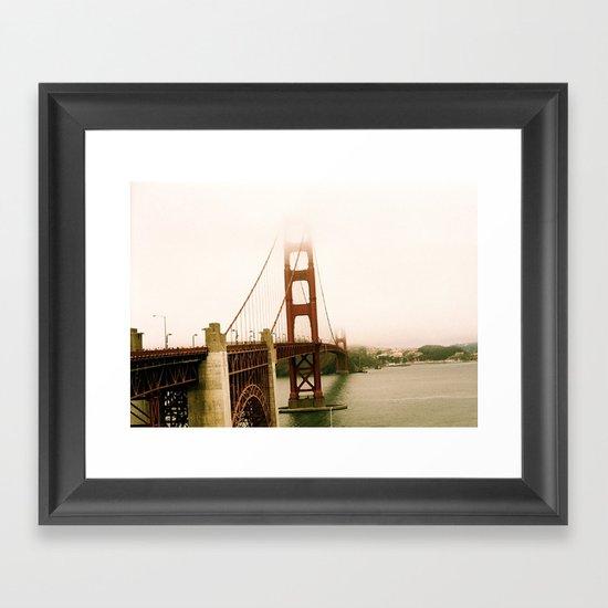 GG Bridge San Francisco Framed Art Print