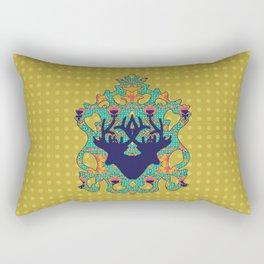 Polka Lotus : Antilope Rectangular Pillow