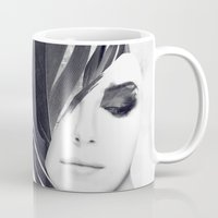 lightning Mugs featuring Lightning by Daniel Bonavita